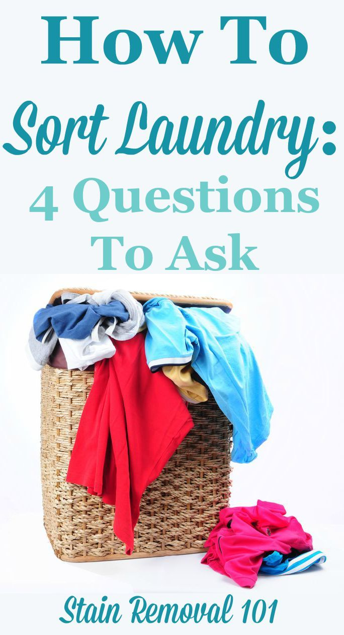 Discussion on this topic: How to Sort Laundry, how-to-sort-laundry/