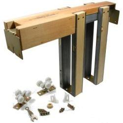 Johnson Hardware 1500 Series Pocket Door Frame For Doors Up To 30 In X 84 In 152670pf Pocket Door Frame Pocket Door Hardware Pocket Doors
