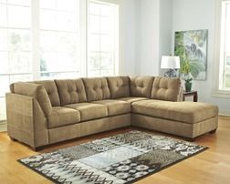Signature Design By Ashley Driskell Mocha 2 Piece Sectional From