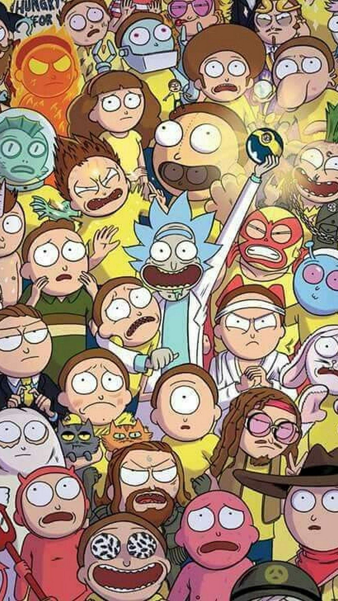 Wallpaper Iphone Cartoon Wallpapers Iphone In 2020 Rick And Morty Poster Cartoon Wallpaper Rick I Morty