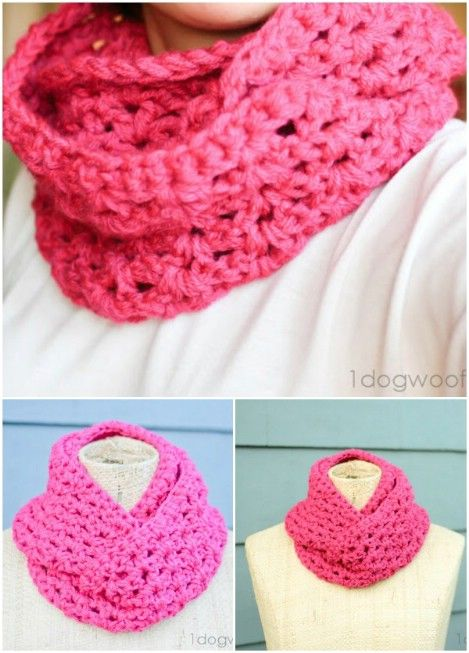 26 Cozy DIY Infinity Scarves With Free Patterns and Instructions ...