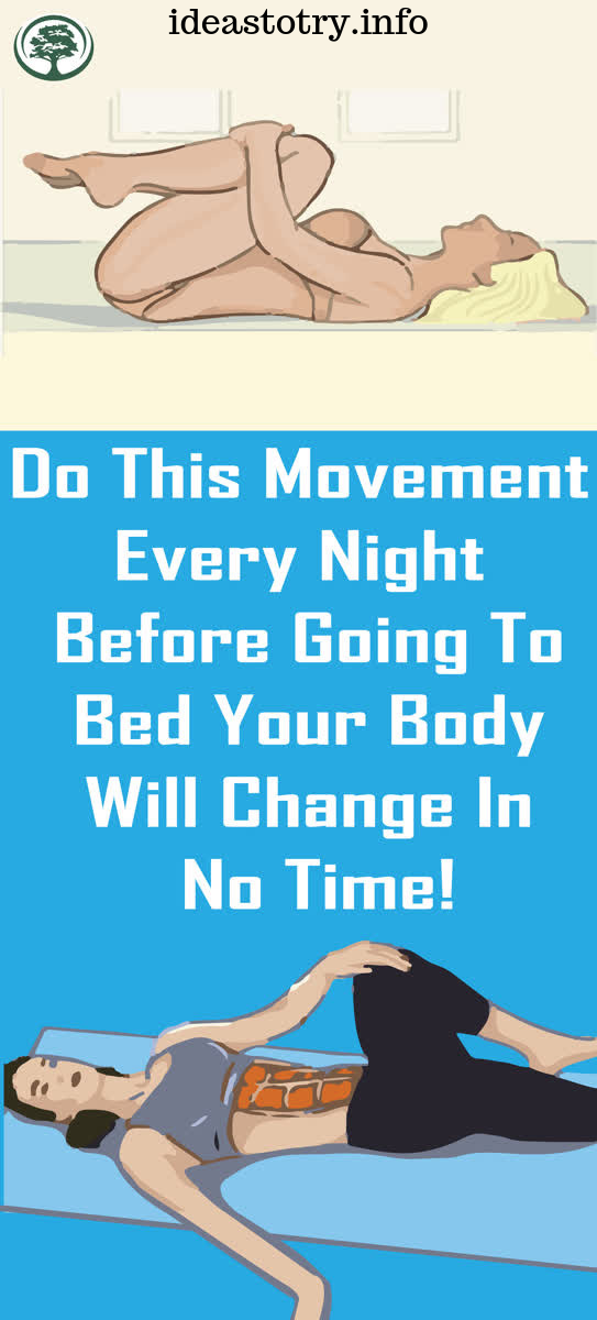 DO This Movement Every Night Before Going To Bed, Your