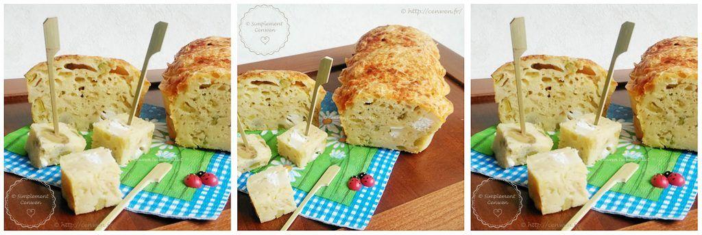 Cake salé courgette, olives et fromage de chèvre : recette de base du cake salé à agrémenter selon vos goûts et vos envies ♥ Recette facile et économique !