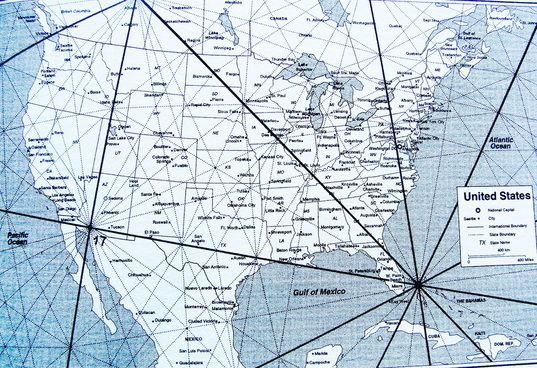 Magnetic Ley Lines In America New Giagraphy High Resolution Map - Ley lines in the us map