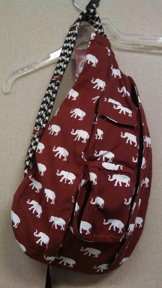 Kavu rope backpack elephants  b2004410ea13