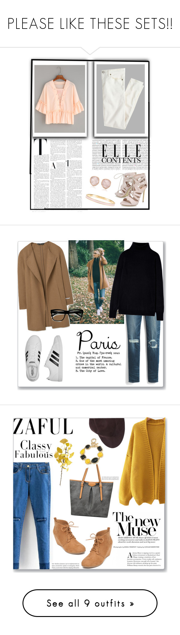 """""""PLEASE LIKE THESE SETS!!"""" by enjolras1832 ❤ liked on Polyvore featuring Monica Vinader, J.Crew, Carvela, Oris, Kate Spade, White House Black Market, MANGO, adidas, ZeroUV and New Directions"""