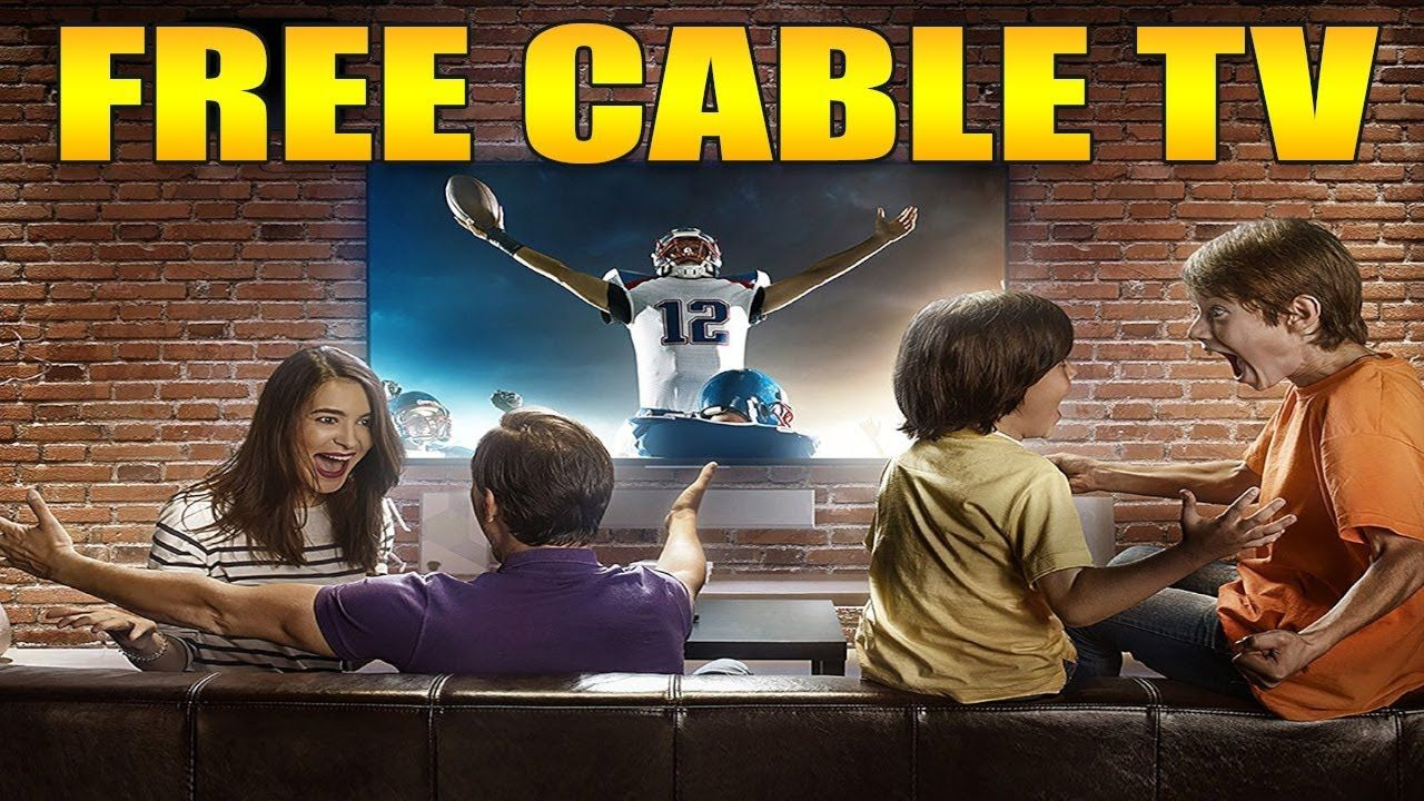 """(""""FREE CABLE TV"""") in just 5 MINUTES with HD channels LOCAL"""