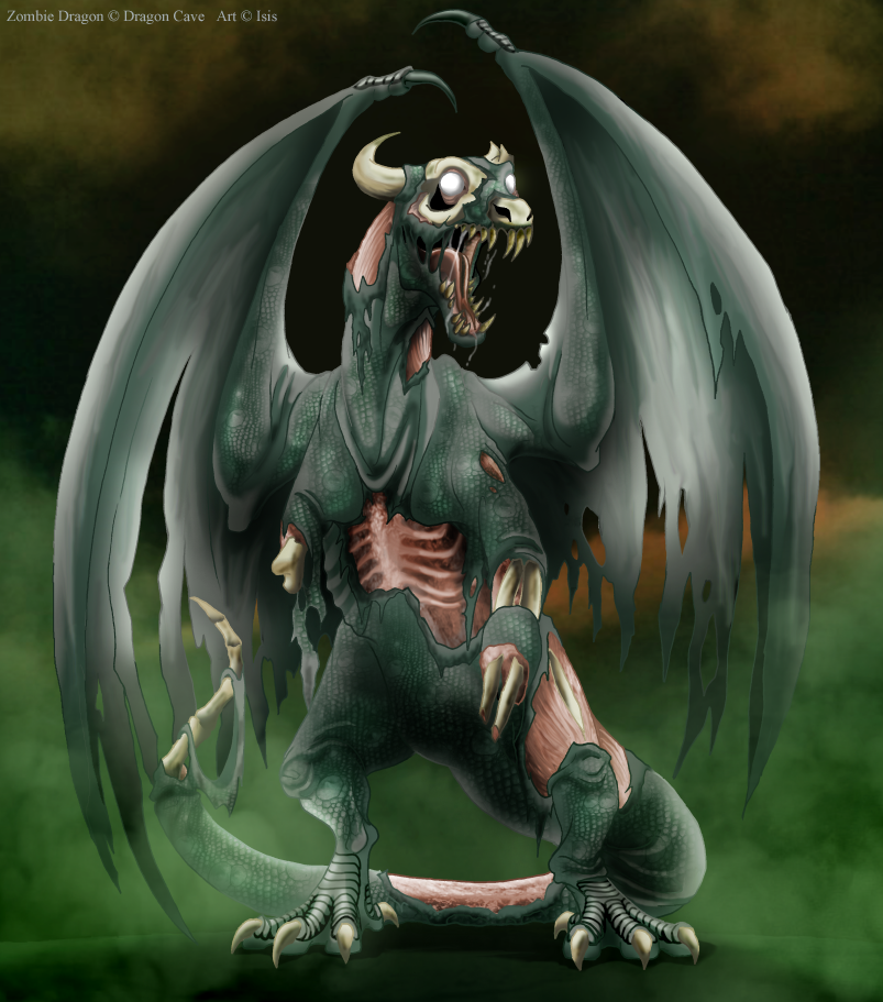 Real Baby Dragons | Undead Dragon by IsisMasshiro on deviantART