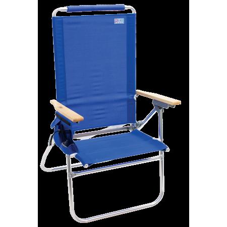 Peachy Rio Beach Hi Boy Tall Back Beach Chair Blue Products In Squirreltailoven Fun Painted Chair Ideas Images Squirreltailovenorg