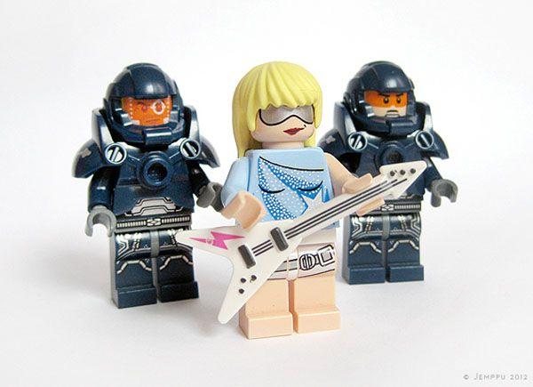 Lego Lady Gaga - Crédito: Buzzfeed