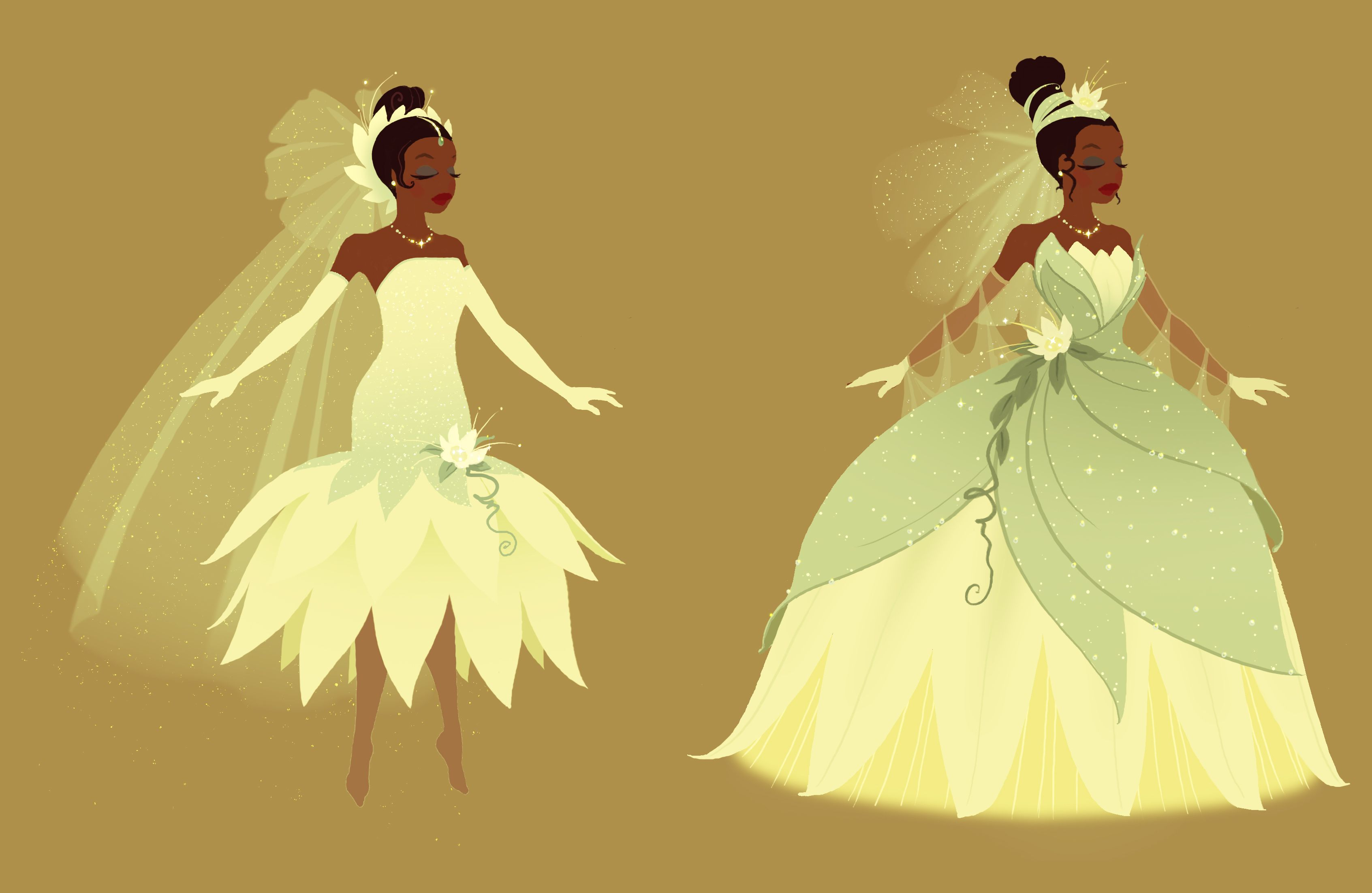 Princess and the frog outfit