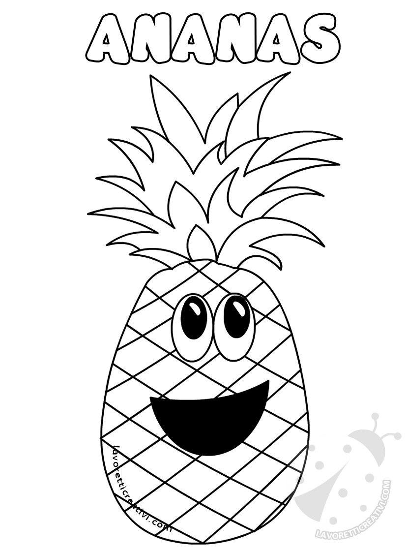 Frutta Disegni Da Colorare Per Bambini Disegni Disegni Da