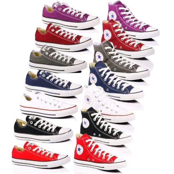 Converse All Star Chuck Taylor Boys Womens Skate Canvas Trainer .