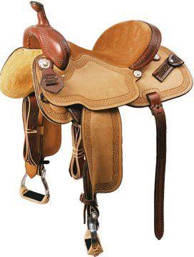 Silla de montar occidental buy product on for Sillas para caballos