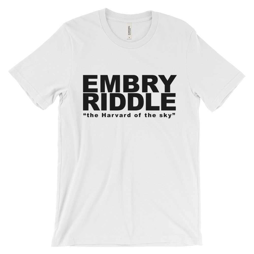 7c1ed4667 Unisex Embry-Riddle the Harvard of the sky T-Shirt   Products   T ...