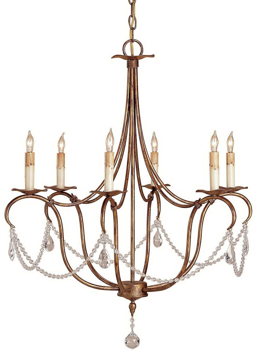 South S Decorating Currey And Company 9880 Crystal Lights Traditional Chandelier Small Cnc