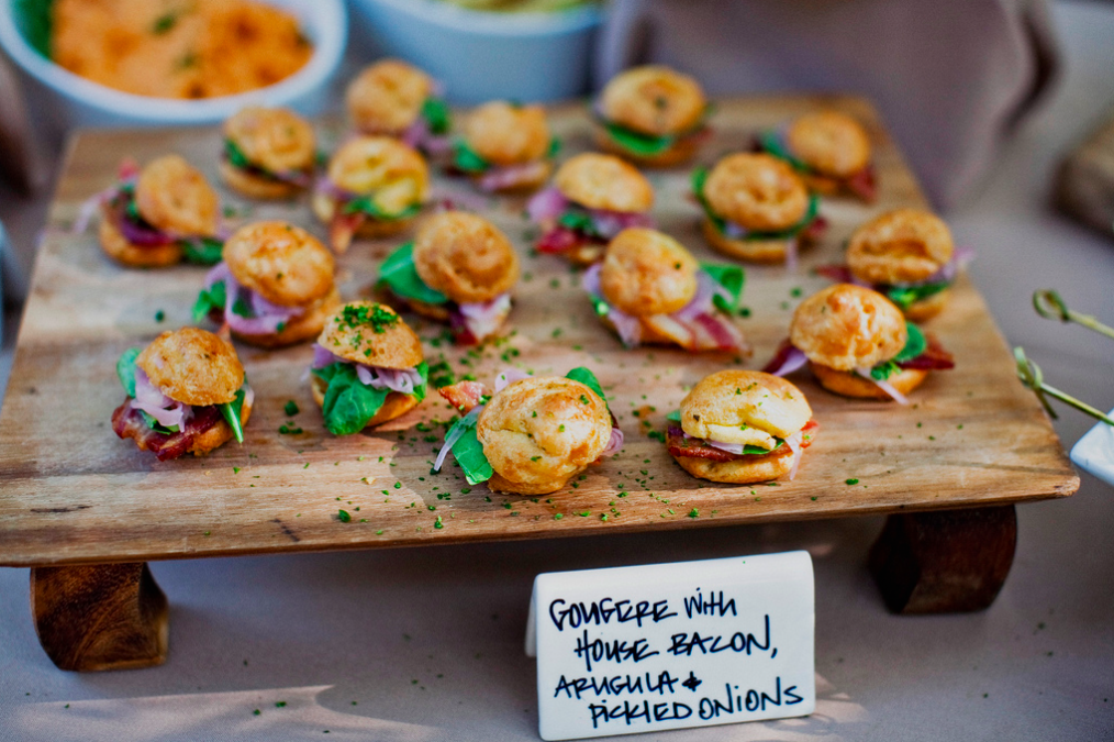 Country Style Rustic Fare Served On Wooden Boards Is A Fabulous Idea For Vineyard Wedding