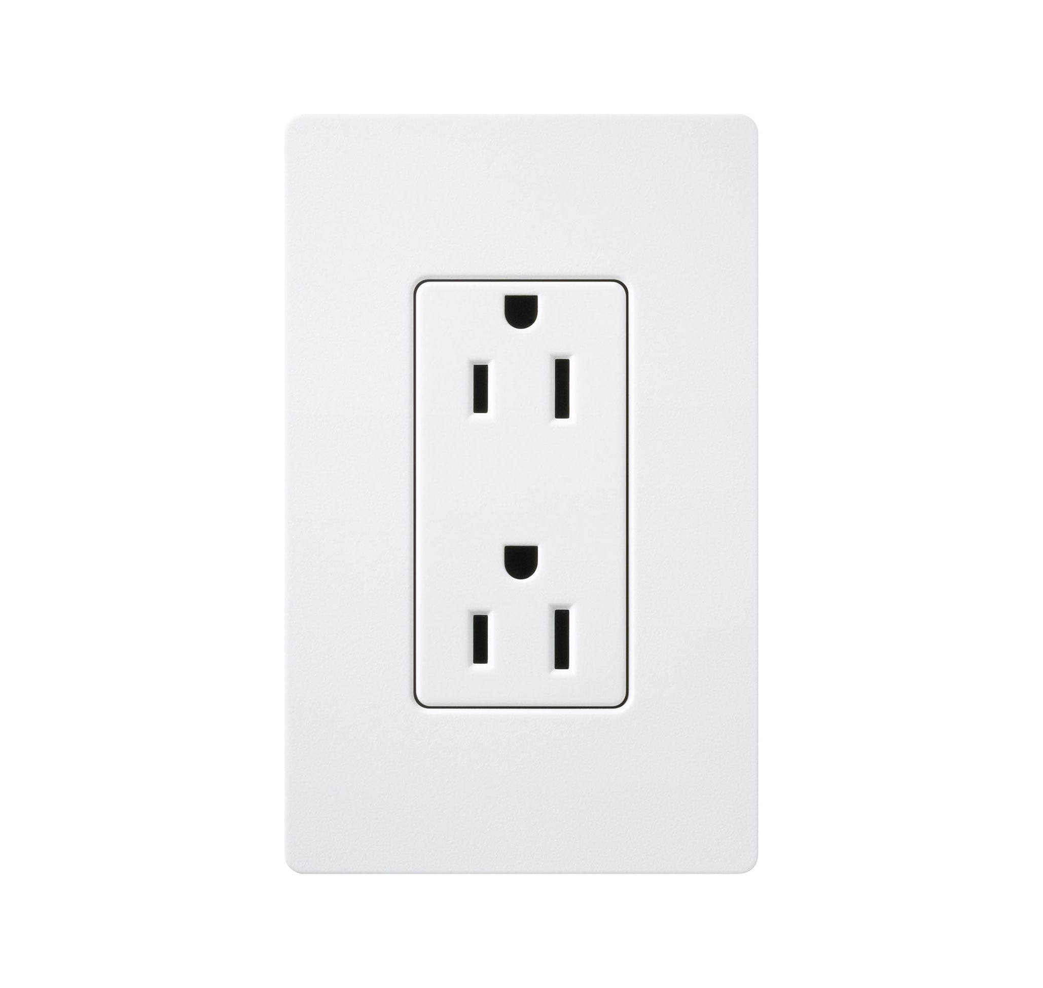 20 amp receptacle satin color by lutron scr20tp