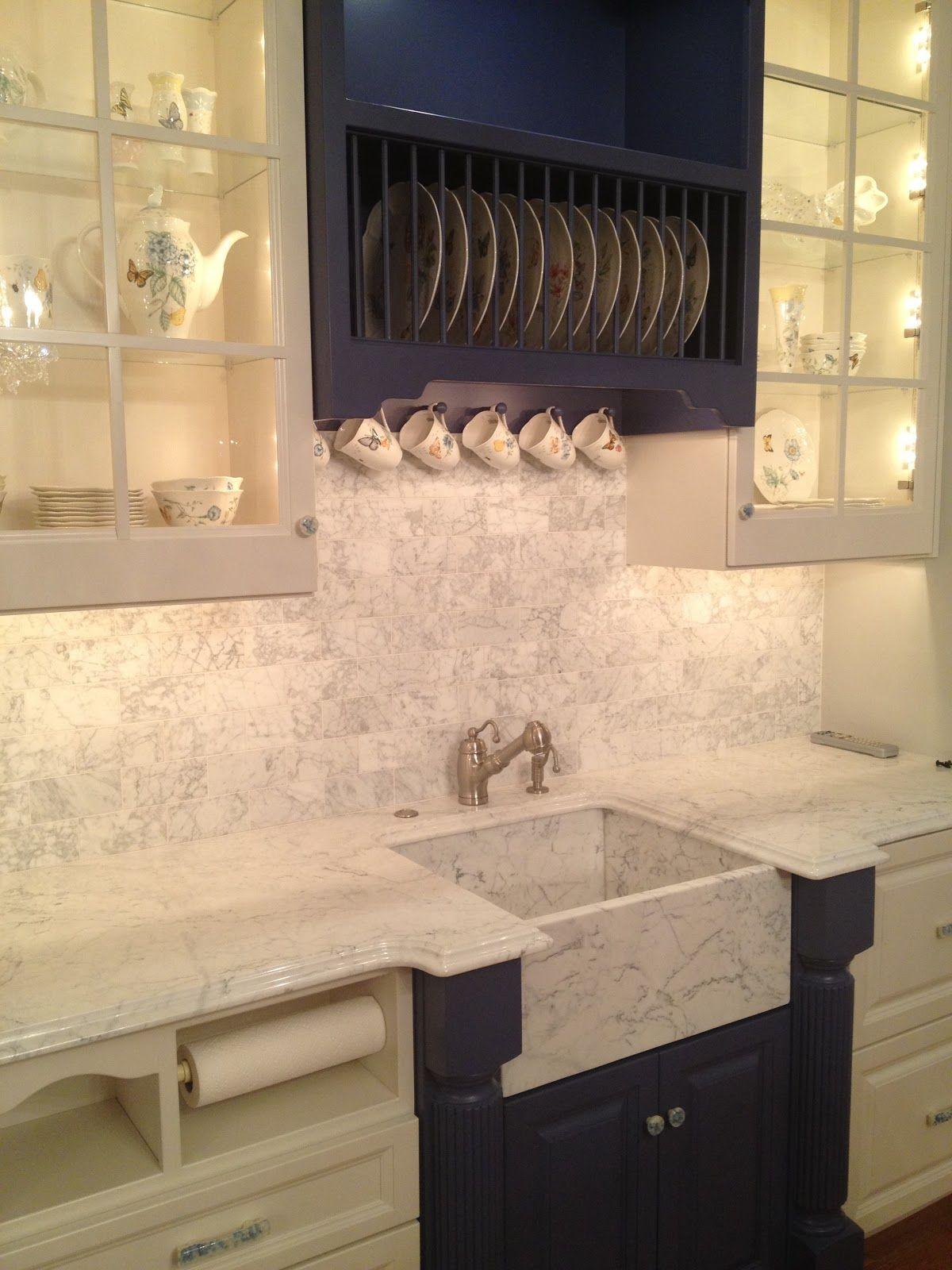 Kitchen sink no window  baunderie marble  cuisine  pinterest  china cabinets kitchens