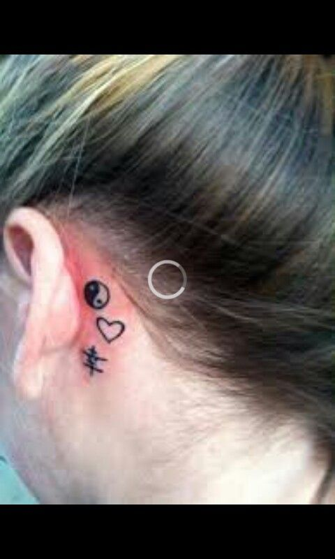 Pin By Gina Yeatts On Tattoos Tattoos Behind Ear Tattoos Ear