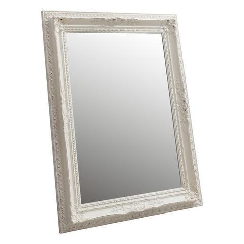 Baltasar Wall Mirror Vintage White Medium 115cm X 85cm