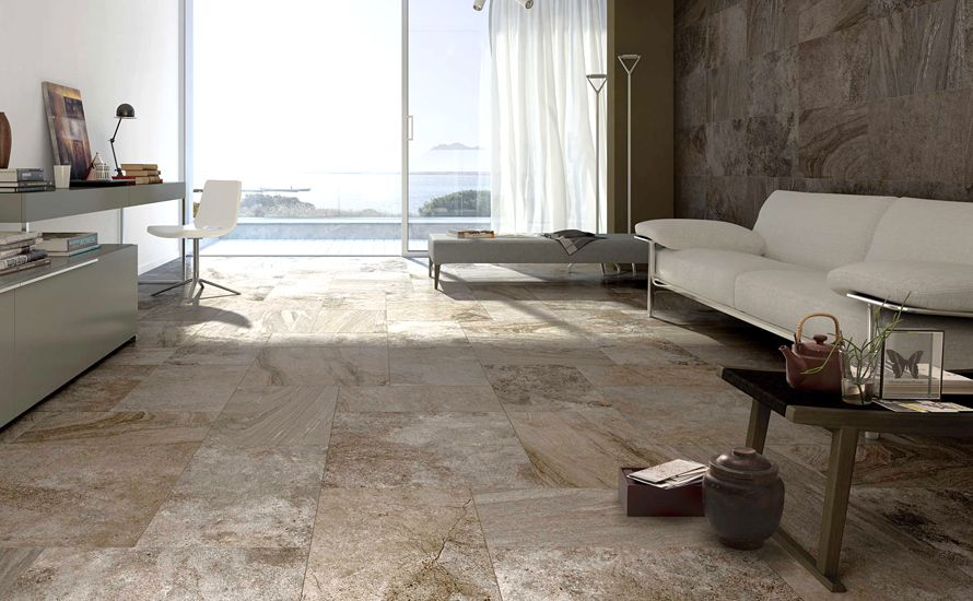This Living Room Looks Like Paradise. | Type Of Tile: Porcelain | Series: