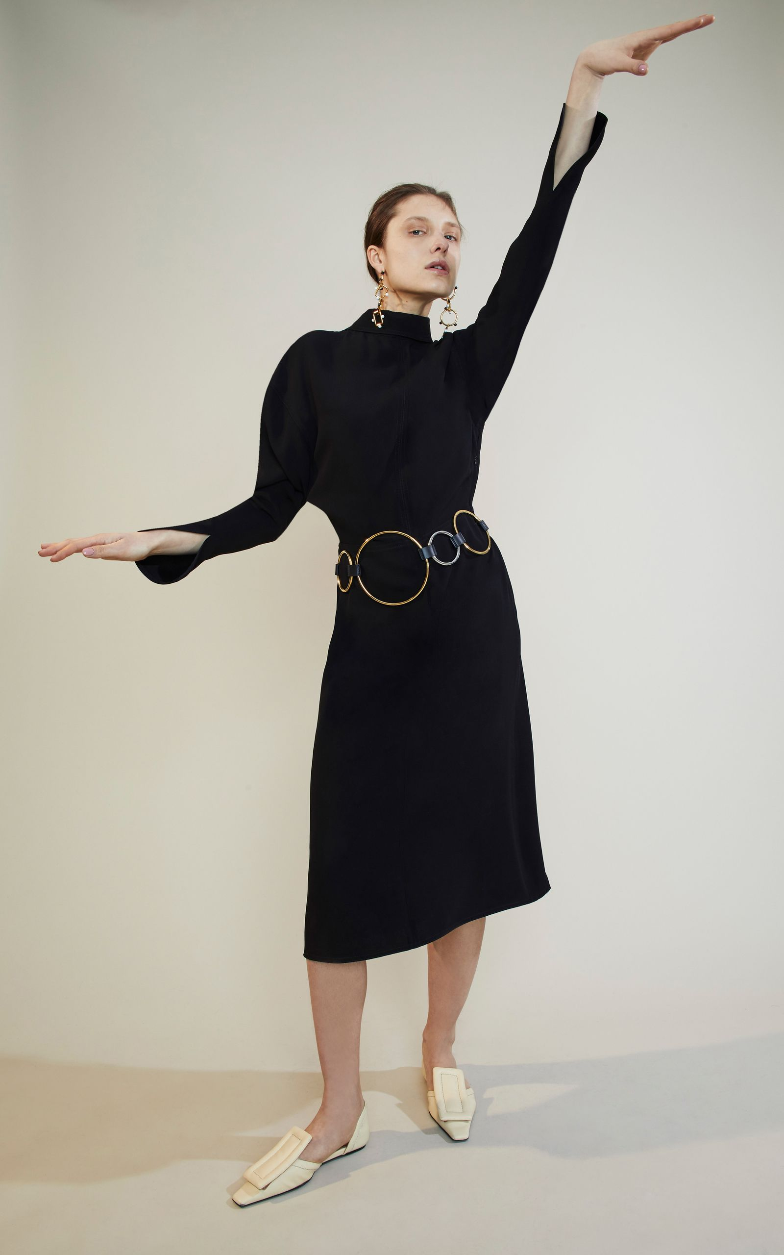 Long Sleeve Dress by MARNI for Preorder on Moda Operandi