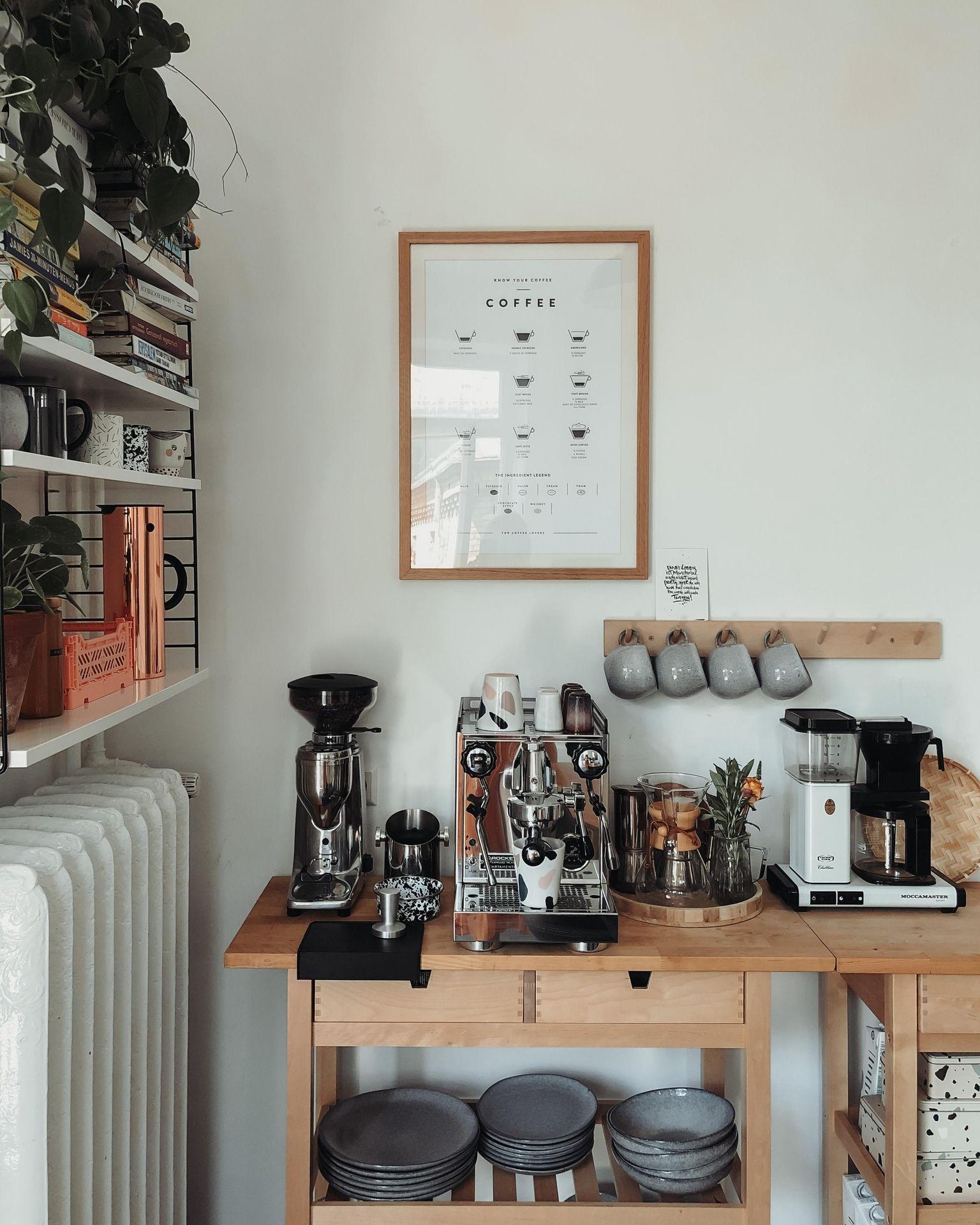 Kuchen Ideen So Planst Du Deine Traumkuche In 2020 Traumkuche Kuche Kaffee Bar