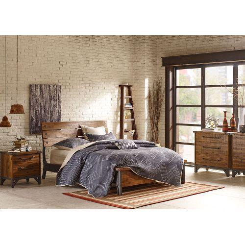 Ink+Ivy Lancaster Vintage Industrial 7-Piece Queen Bedroom Set