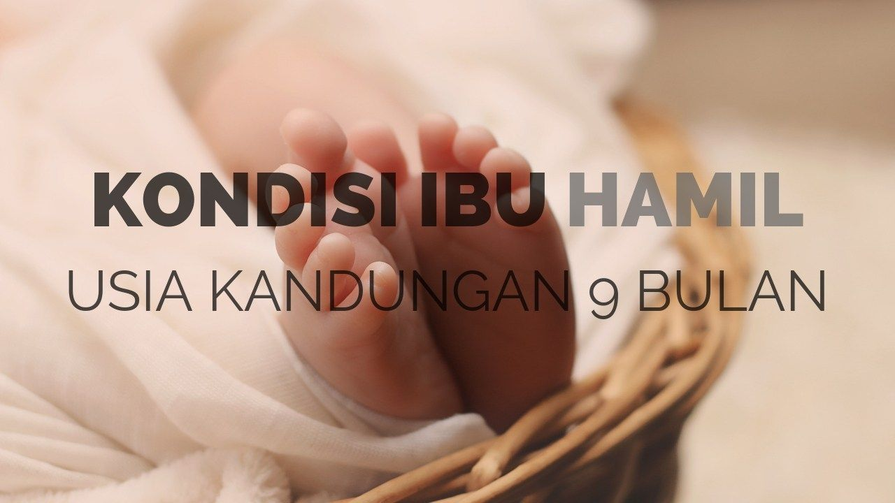 Usia Kandungan 9 Bulan Hamil Ibu Bulan