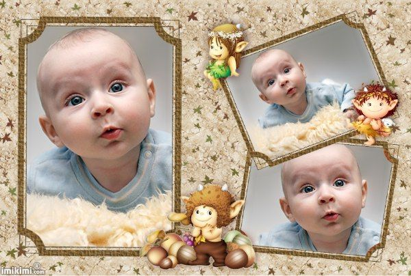 baby u0026 39 s first photo album  cute frame  you can click on