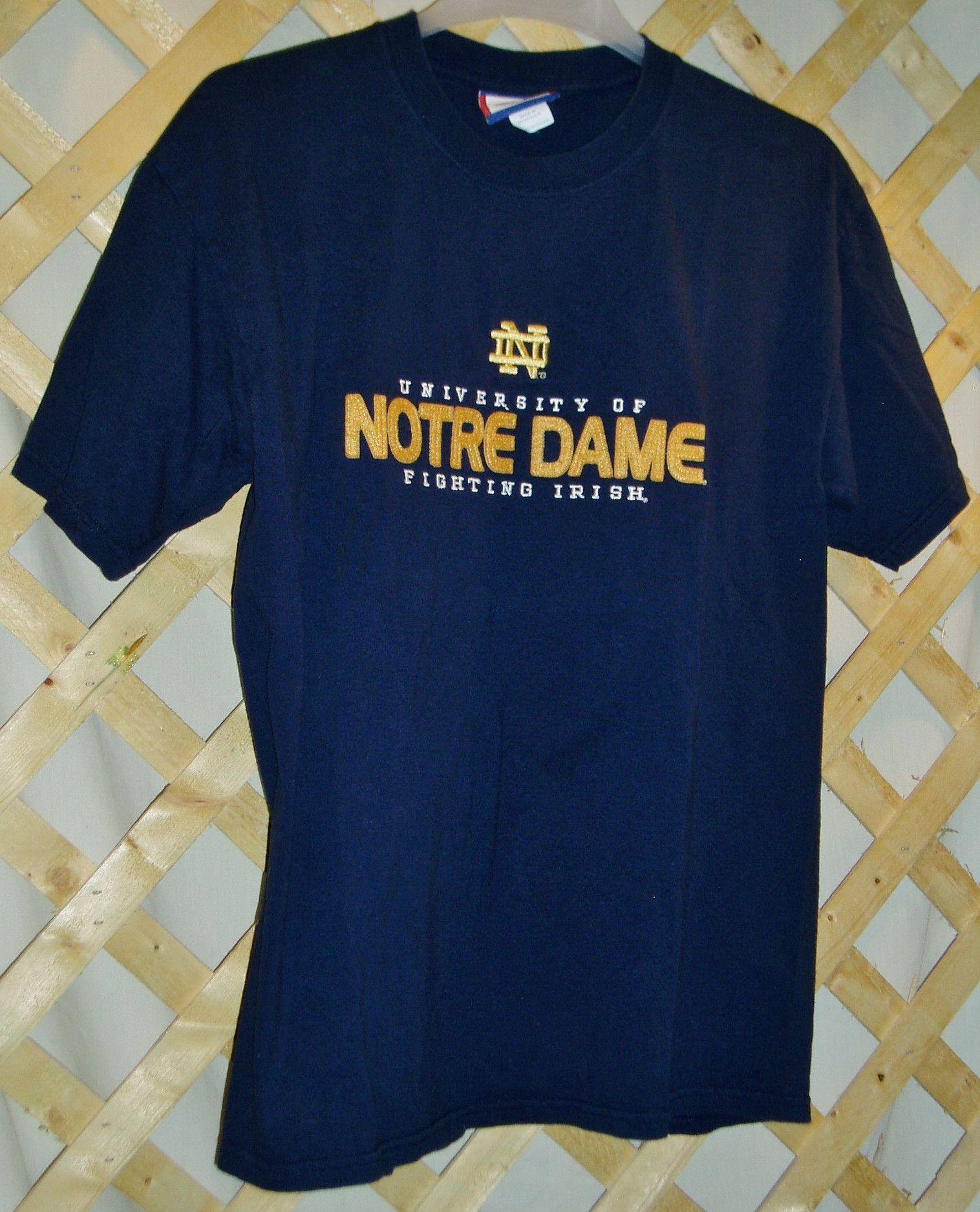 Dark Blue Notre Dame T-Shirt