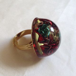 Orgonite Ring | by Yvonne Raftery