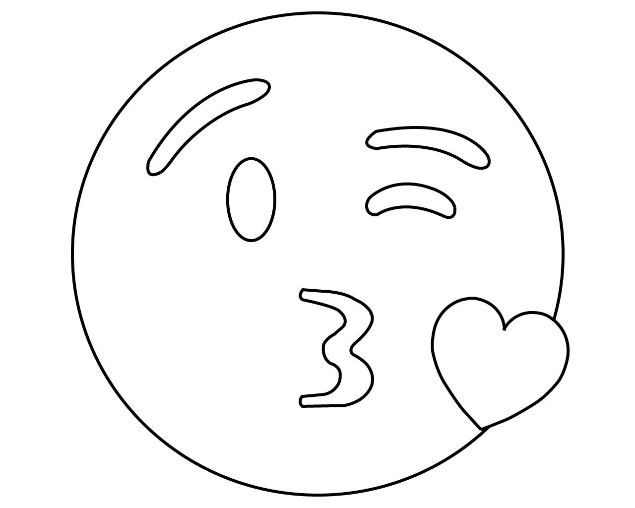- Printable Emoji Coloring Pages For Your Lovely Toddlers (With