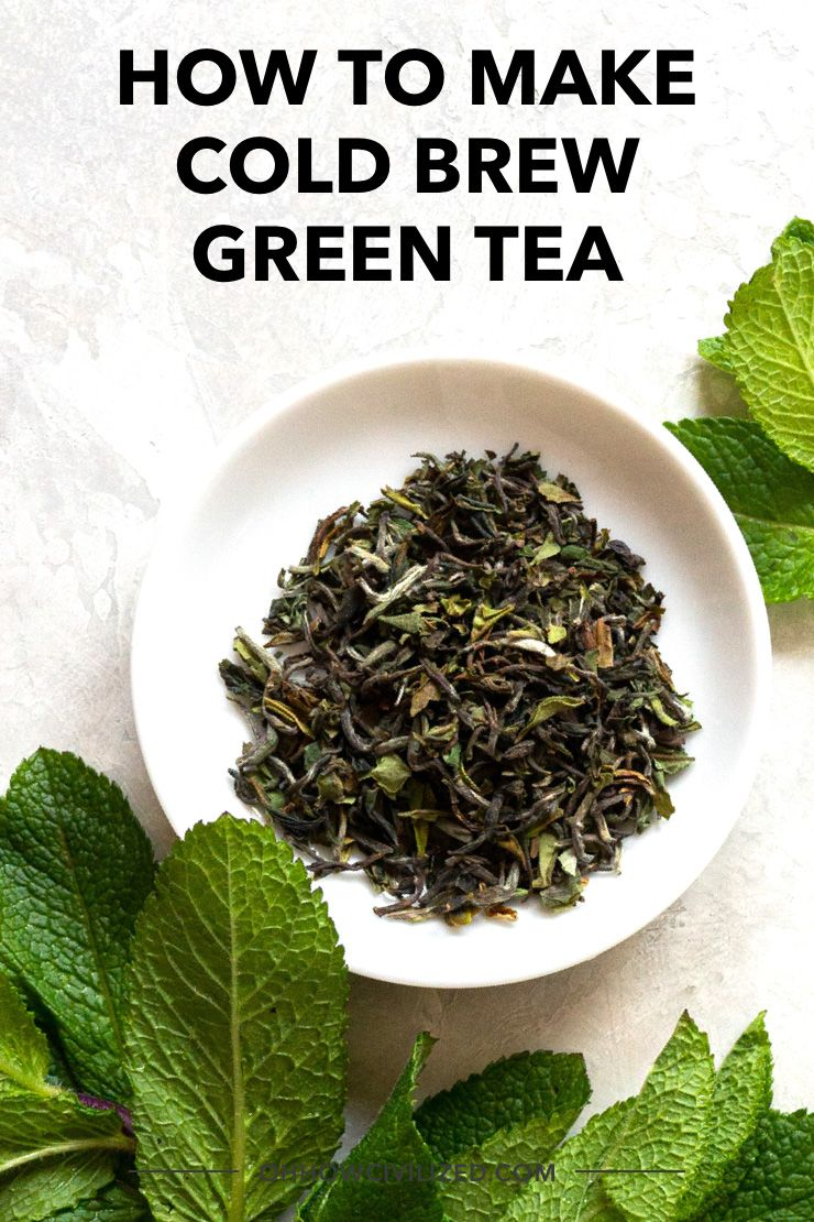 Photo of How to Make Cold Brew Green Tea