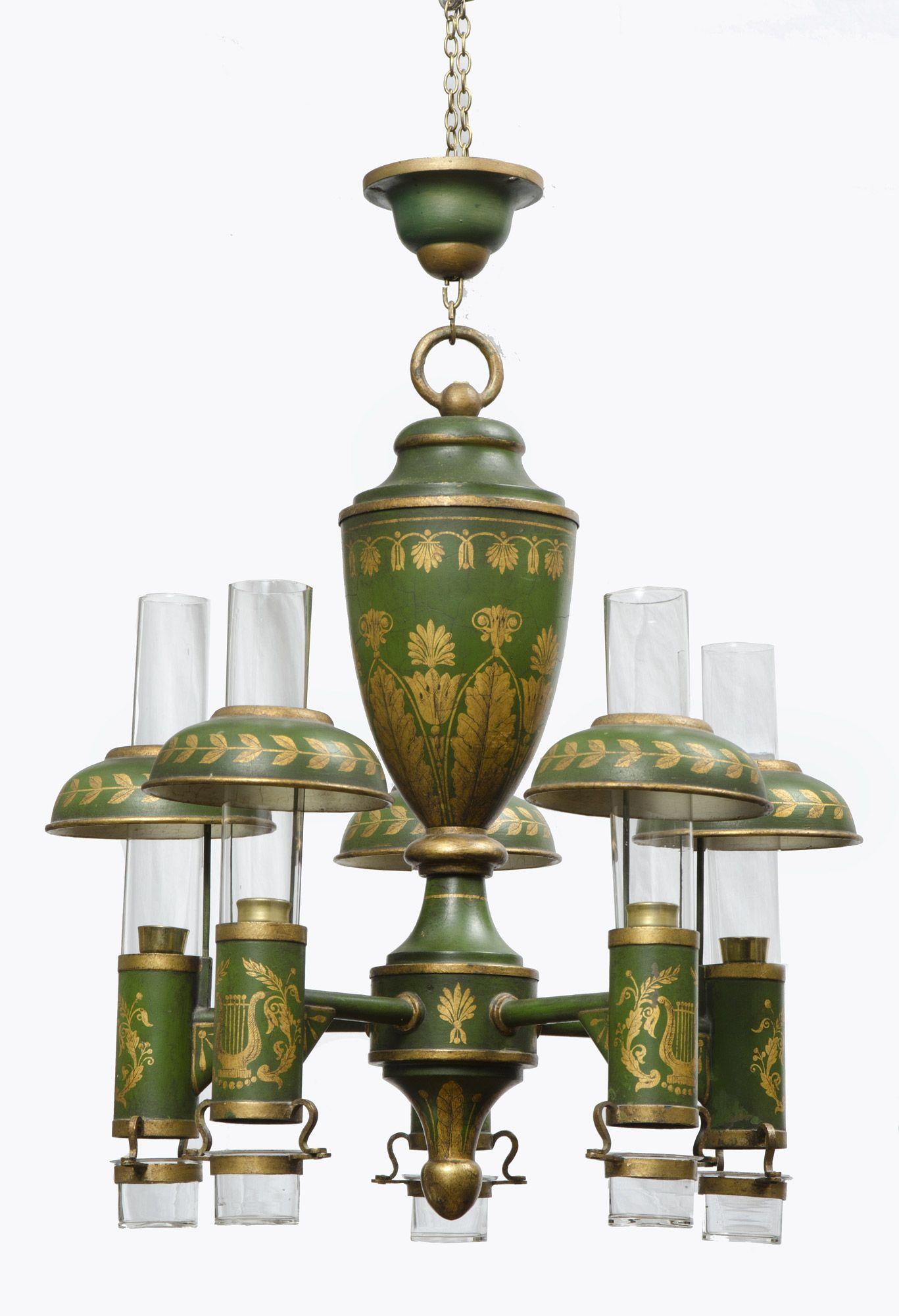 French antique tole peinte chandelier tootolely mad for toleware french antique tole peinte chandelier arubaitofo Image collections