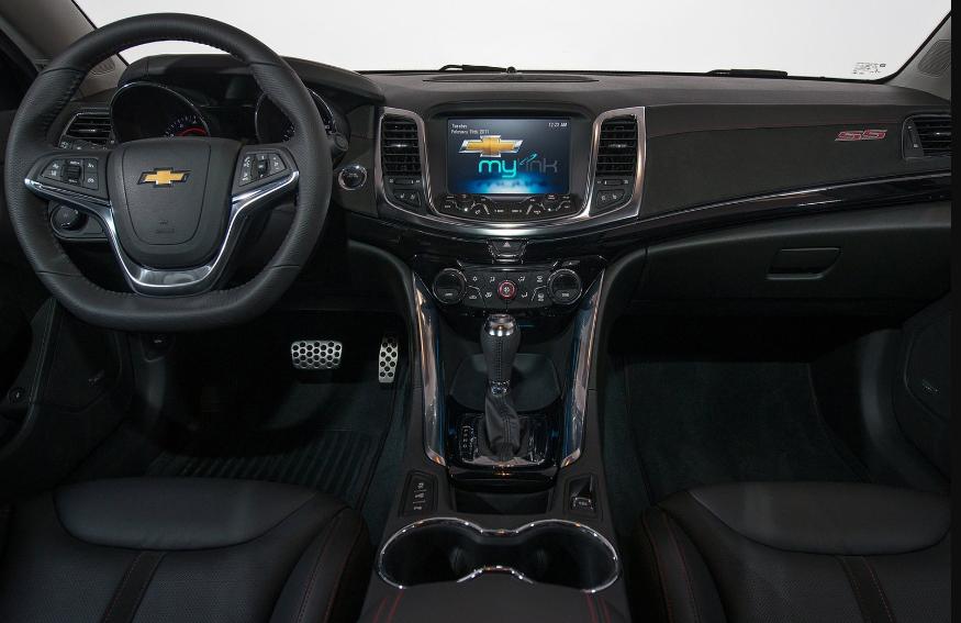 2017 Chevrolet Monte Carlo Interior