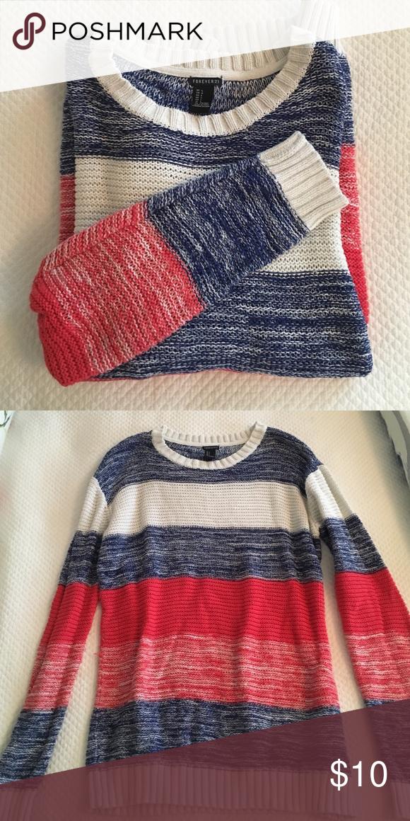 Forever 21 sweater Navy blue e33e7d4b0