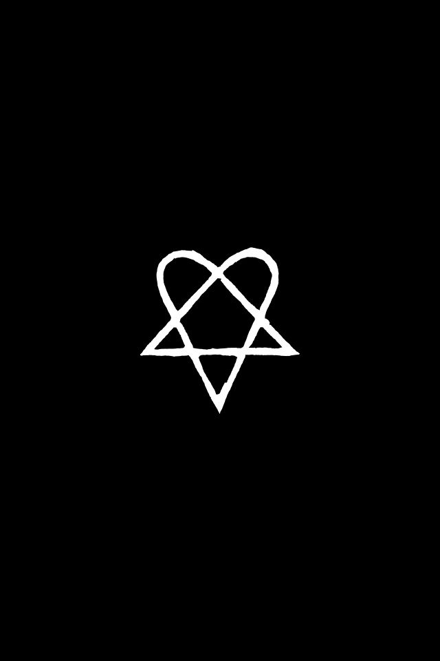 847b875d1 Heartagram <3 | Heartagram For You in 2019 | Band logos, Him band ...