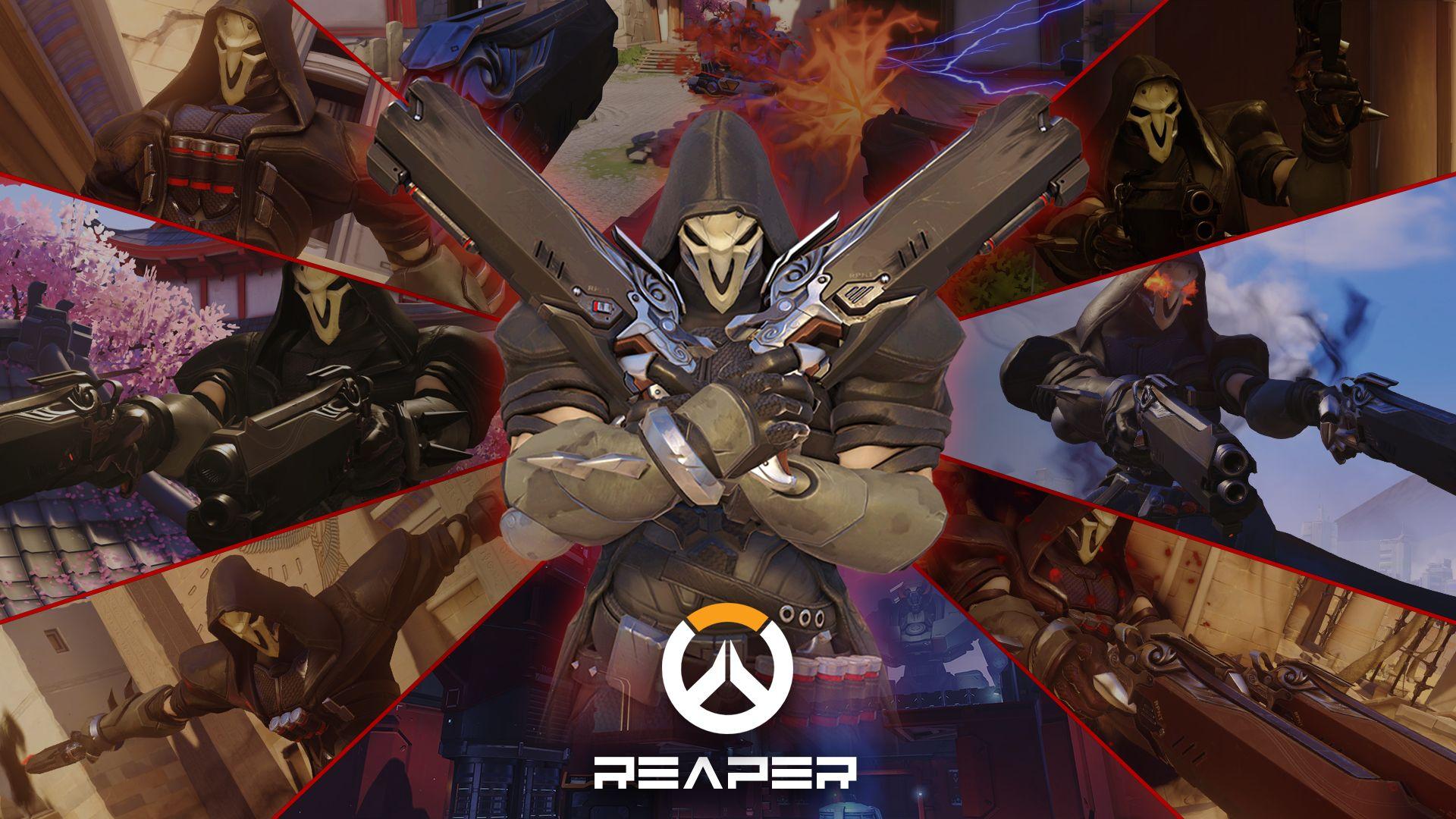 Video Game Overwatch Reaper (Overwatch) Wallpaper