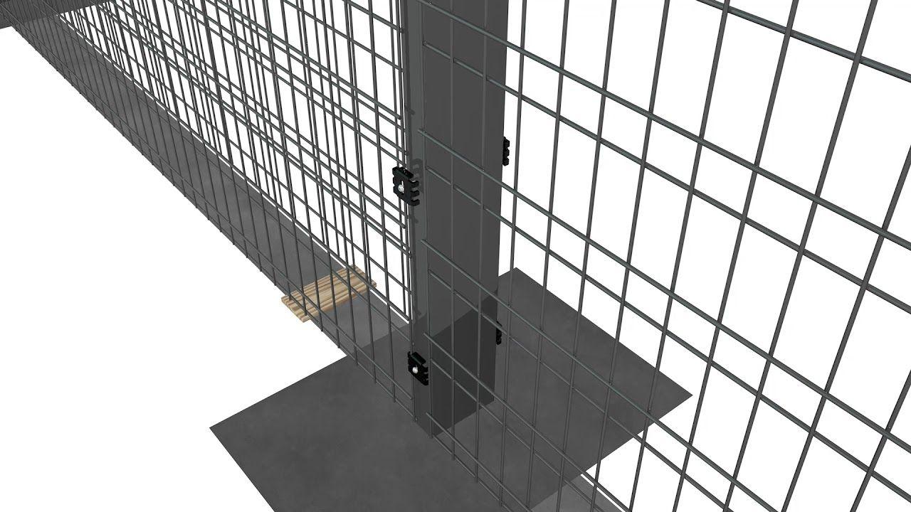 Zenturo Super Gabion Wall installation YouTube (с