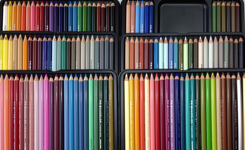 Prismacolor Pencils 132 Tin Review Unboxing Prismacolor