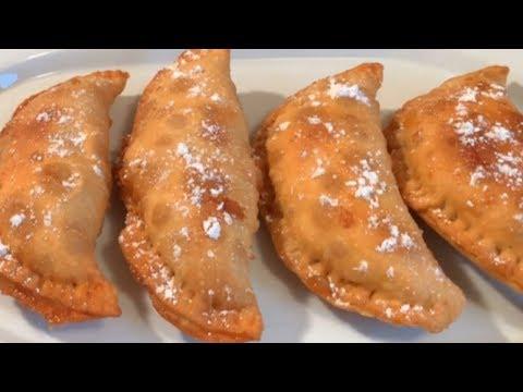 (241) How to make Fried Caramel Apple Pie YouTube