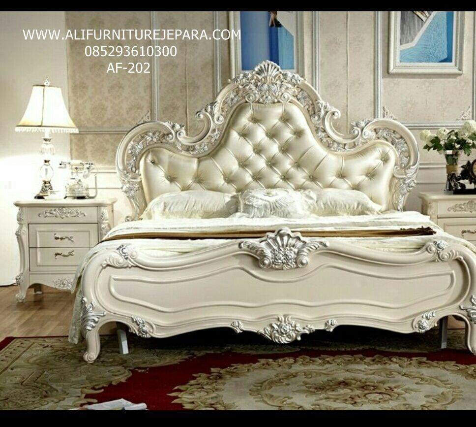 Model Set Tempat Tidur Melodi Terbaru AF202 Luxury