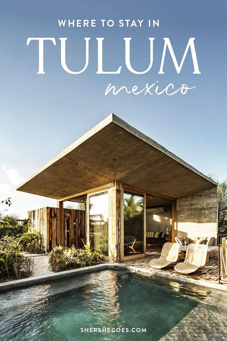 Where to Stay in Tulum Beach or Town  – Tulum hotels