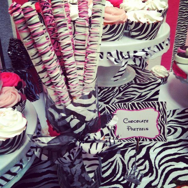 Barbie Zebra Theme 1st And 5th Birthday: Minnie Mouse/Zebra Birthday Party Ideas