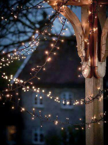 Outdoor Fairy Lights Classy Man Made Light Not Natural Lighting  Lights  Pinterest  Lights Inspiration