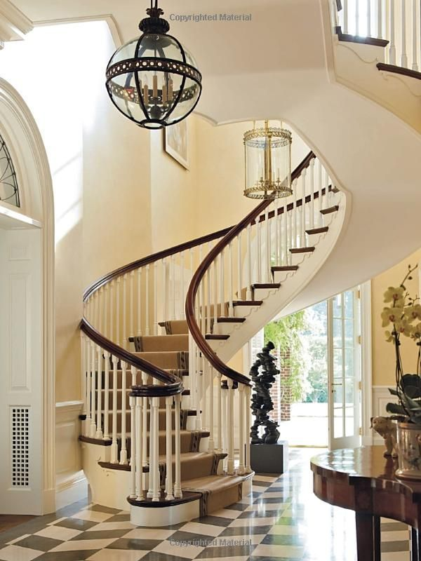 Gorgeous Foyer And Stair Casing