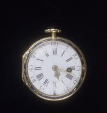 Julien Le Roy 16861759 Gold And Enamel Pocket Watch