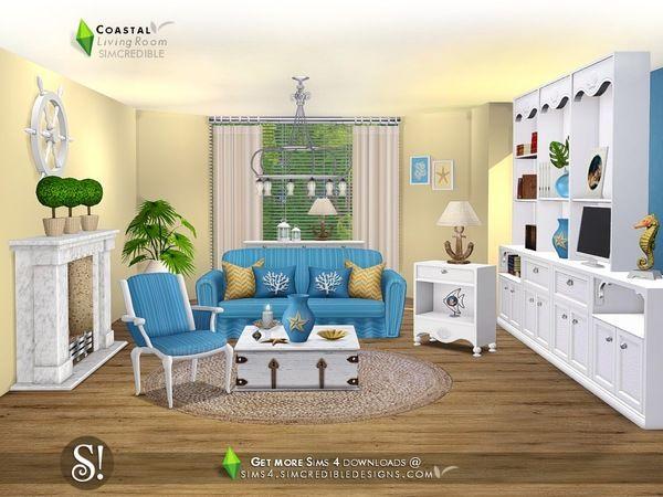 Coastal Living by SIMcredible at TSR • Sims 4 Updates